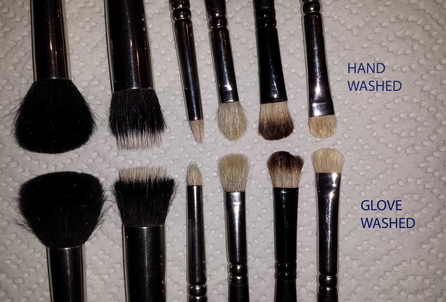 Brushes Cleaned